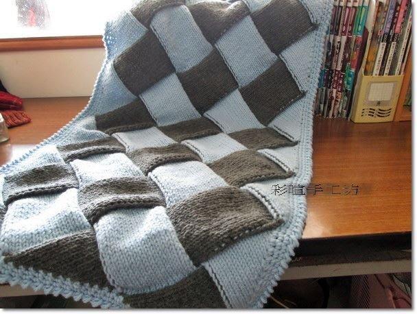 ☆彩暄手工坊☆被毯~方格被毯材料包~多色任選配!手工藝材料、編織書、編織工具、進口毛線、鉤針娃娃、抱枕、