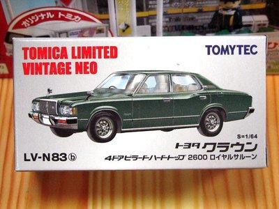 TOMYTEC LV-N83b Toyota CROWN 4DOOR HT (綠)