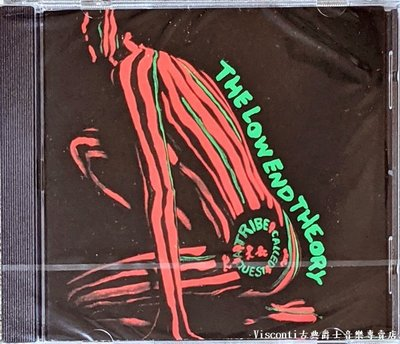 ©【Jive預購】A Tribe Called Quest:The Low End Theory探索一族:底層理論