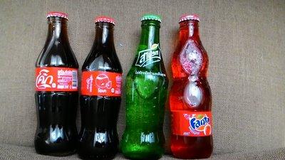 泰國   可口可樂 雪碧  芬達  250ml 4瓶  Coca Cola Fanta Sprite
