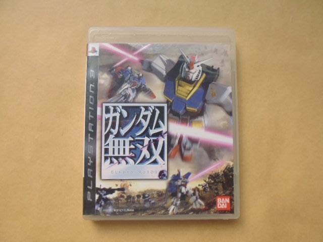 明星錄*1994年香港製GUNDAM MUSOU二手遊戲光碟=附中文遊戲手冊(s222)