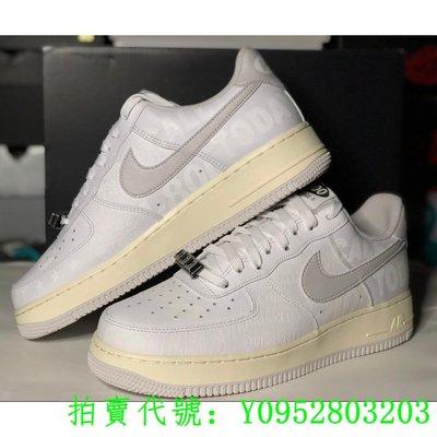 街頭潮流 Nike Air Force 1 07 Premium Toll Free 白灰 CJ1631-100現貨