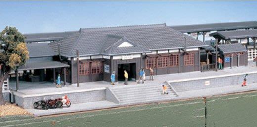 KATO 23-220 大車站 木造車站 地方車站 鄉村車站 站房 N規 火車站模型 LUCI日本空運代購