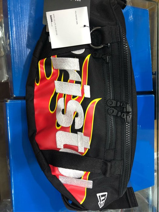 「NSS』F.C.Real Bristol  fcrb NEW ERA FIRE FLAME WAIST BAG 腰包