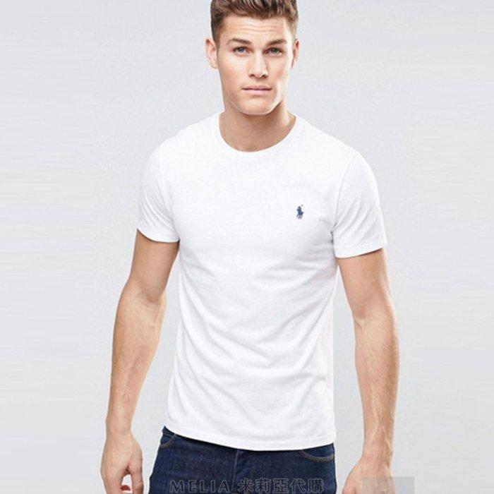 Melia 米莉亞代購 Ralph lauren POLO 2018經典系列 男裝 短袖 美國款 圓領T恤 經典小馬款