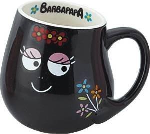 日本 BARBAPAPA泡泡先生快樂家族杯媽媽黑色 [ 值得收藏 ]