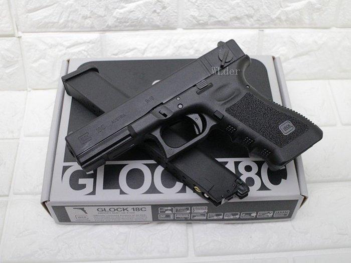 [01] Umarex GLOCK G18C 手槍 瓦斯槍 仿真 連發 授權刻字( VFC克拉克GBB彈BB槍短槍模型槍