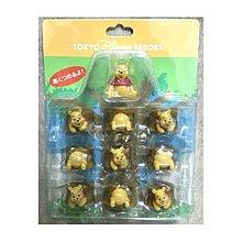 絕版 日本迪士尼 樂園 商店 紀念品 玩具 小熊維尼 winnie the pooh 層層疊 疊疊樂