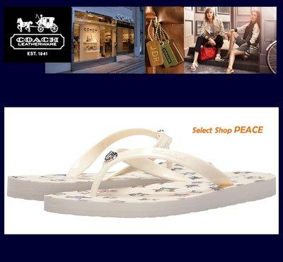 COACH 美國【現貨】US5/8號 夾腳拖鞋 Abbigail Flip Flop