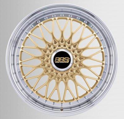 DIP 德國 BBS 鋁圈 Super RS 金圈 銀邊 鍛造 19吋 8.5J ET48 5孔 112 19x8.5J 5/112