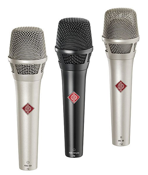 造韻樂器音響- JU-MUSIC - Neumann 紐曼 KMS 105 銀版 歌手 主唱 知名藝人 電容式 超心型 麥克風