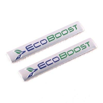 【機車王子】現貨!福特 Mondeo EcoBoost  kuga fous Taurus ECOBOOST車標車貼尾標金屬標葉子板