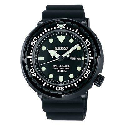 【金台鐘錶】SEIKO 精工 PROSPEX 48mm  防水300米潛水錶 鮪魚罐頭(日版) SBBN035