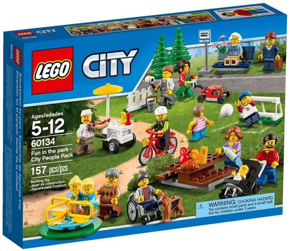 全新 LEGO 樂高 60134 CITY 城市系列 歡樂遊園 城市系列人偶套組