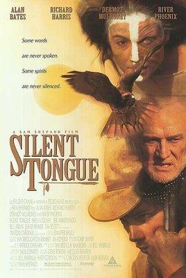 Silent Tongue - 美國原版電影海報 (1994年)