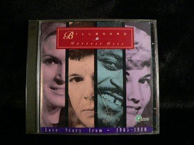 乖乖@賣場~二手CD~BILLBOARD HOTTST HITS1965-1980.JINGO.AX300