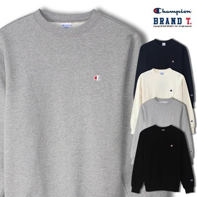 【Brand T】日版 CHAMPION BASIC CREW C3-C024 刺繡 小C 內刷毛 大學T 衛衣 4色 新北市