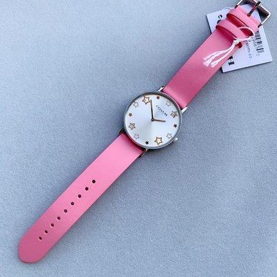 【全球精品代購鋪】COACH 14503242 14503243 真皮錶帶石英手錶 女錶購美國代購Outlet專場可團購