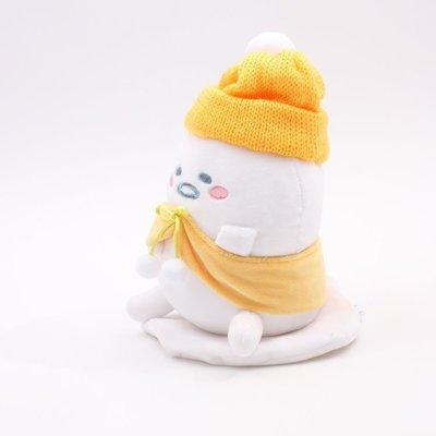 全新 日本直購 Tokyo Sanrio gudetama 蛋黃哥 冬日雪人公仔 20CM 預購(可旺角門市取貨)預購貨品請先入數