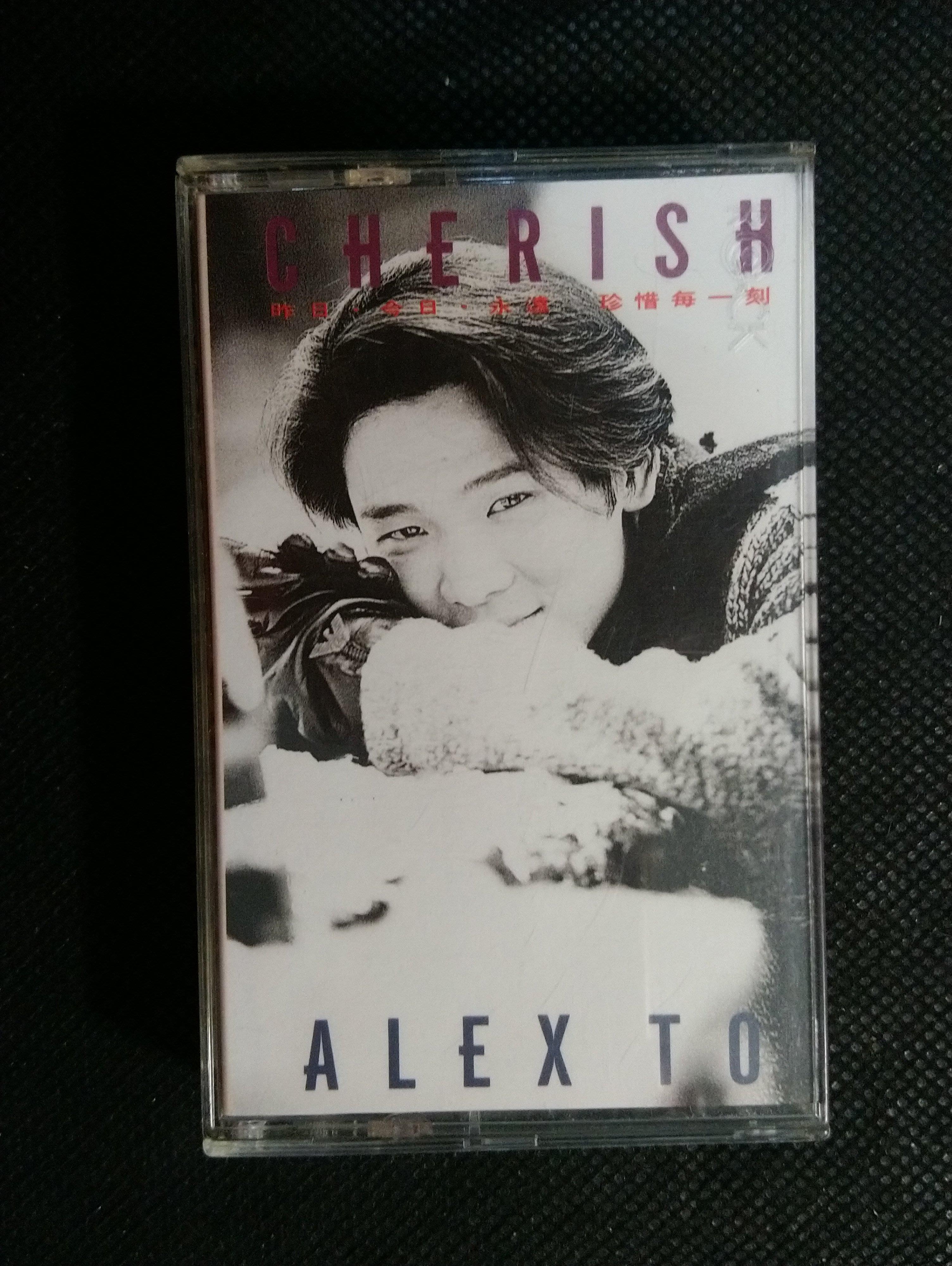 錄音帶 /卡帶/ 27F / 杜德偉 /英文/Cherish/ Hello/My Girl/非CD非黑膠