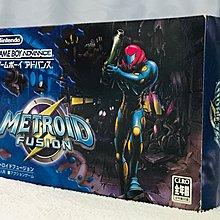 Game Boy Advance GBA Metroid Fusion 銀河戰士 融入 日版