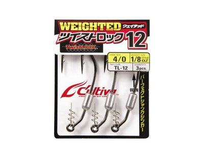 (桃園拓源釣具) OWNER TL-12 Weighted 路亞鉤 優惠價135元/包