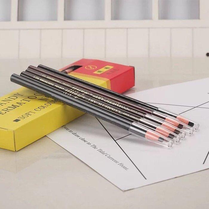 亨絲1818拆線眉筆(12支一盒)批發團購美容學校上課乙丙級考試用