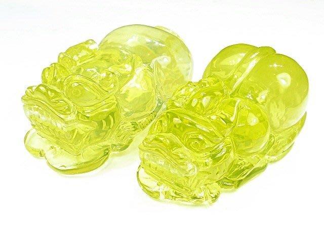 (( 上品堂))頂級天然全美級黃水晶雕貔貅擺件.共重470克.只給第一標.