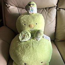 角落生物 河童 綠色怪物 可愛 公仔