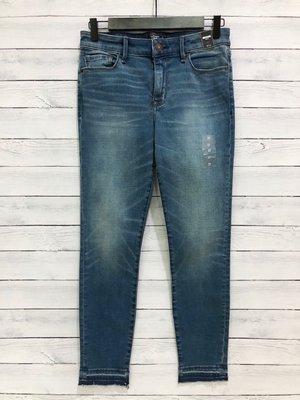 Maple麋鹿小舖 Abercrombie&Fitch * AF 藍色合身牛仔長褲 * ( 現貨27號 )