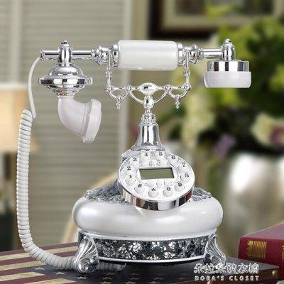 仿古電話機歐式復古老式客廳家用電話座機裝飾電話機商務辦公臺式YYS