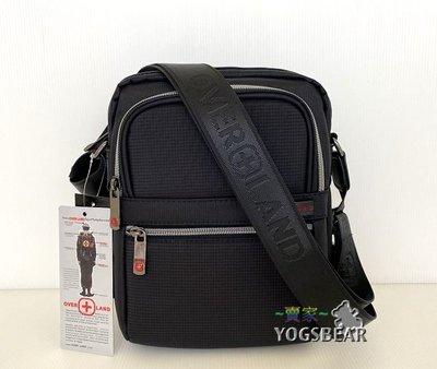 【YOGSBEAR】 直立式 USB充電包 OVERLAND 十字軍 側背包 斜背包 平板袋 5620 小