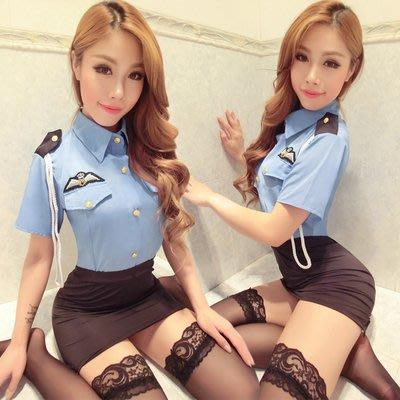 情趣內衣性感女警制服空姐極度誘惑網紅短裙夜店激情套裝挑逗超騷