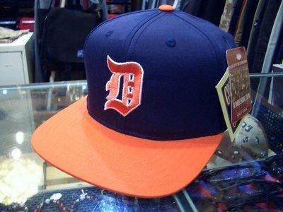 { POISON } MLB正規品 DETROIT TIGERS 底特律老虎 刺繡 Snapback Hat 後扣棒球帽