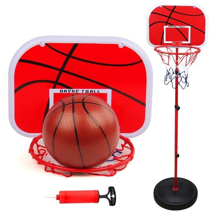 ~Linda~兒童 籃球架 可升降 投籃 家用室內 戶外 運動寶寶皮球類小孩男孩玩具