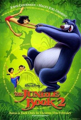 森林王子2-The Jungle Book 2 (2003)原版電影海報
