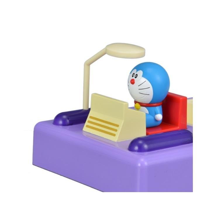 41+ 現貨免運費 日本景品 日空版 小叮噹 哆啦A夢 時光機 餐具組 禮物 擺飾 小日尼三