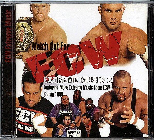 【塵封音樂盒】ECW - Extreme Music
