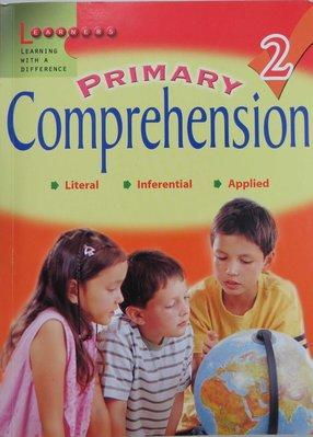 英文閱讀理解 Primary Comprehension 2 書況優 (Literal, Inferential, Applied)
