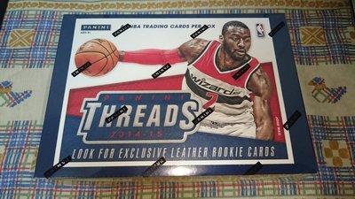 免運費 14-15 Threads Premium 全新原封裝卡盒 可抽 Wiggins Embiid LaVine 新人RC簽 Kobe簽
