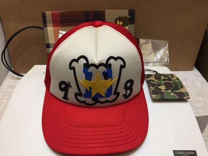 [變身館日本服飾] ~BAPE~A BATHING APE~網帽~棒球帽~全封帽~日本製~頭圍可調~日本購入~全新現品