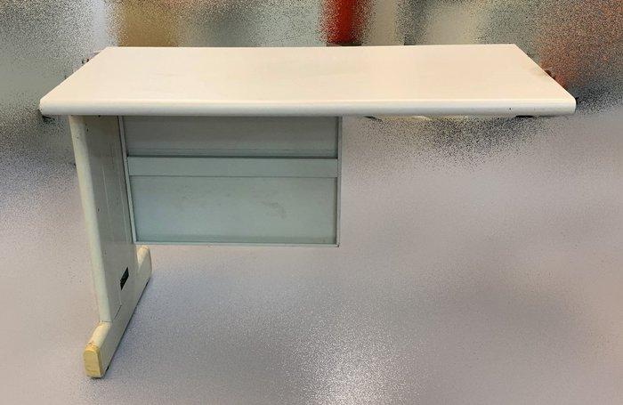 【宏品二手家具賣場】 便宜中古辦公傢俱 C42973*白面辦公桌邊桌 側桌* 電腦桌 L型辦公桌 書桌 主管桌 業務桌