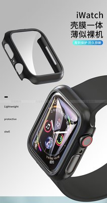 發票 3D曲面全包 apple watch 1/2/3/4/5/6/se 手錶 一體成型 鋼化玻璃保護貼 保護框