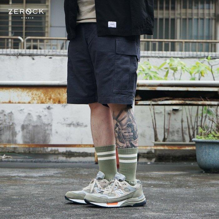 《ZEROCK》WTAPS JUNGLE SHORTS  SHORTS. COTTON. SERGE 黑 工作短褲