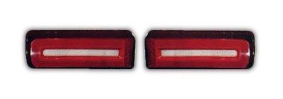 DJD19070455 BENZ W463 G CLASS G350 G500 G55 AMG光柱光條LED紅白晶鑽尾燈