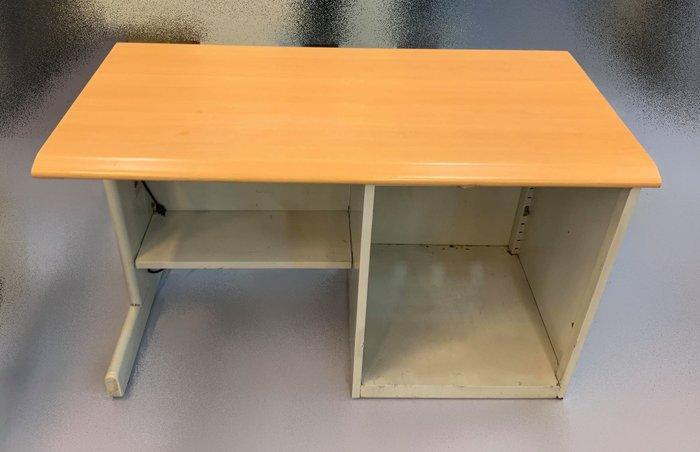 【宏品二手家具賣場】C42981*木紋鐵書桌*主管桌 電腦桌 會議桌 寫字桌 中古oa辦公家具拍賣二手辦公家具特賣