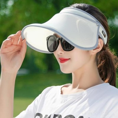 遮陽帽防曬女出遊百搭遮臉兒童夏季戶外防紫外線騎車大沿太陽帽子