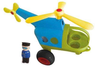 【晴晴百寶盒】瑞典進口 救援直升機 VIKINGTOYS 男孩最愛 車車控 禮物益智遊戲玩具高品質W207