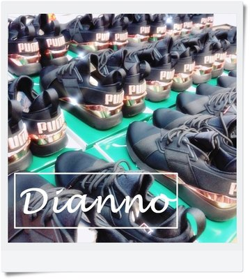 帝安諾 - PUMA MUSE Metal 黑色 玫瑰金 女神系列 襪套 繆斯 緞面 黑色 女 36704701