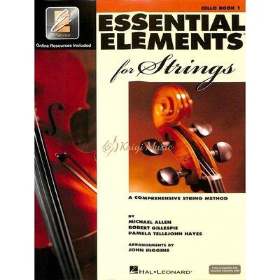 【Kaiyi Music】Essential elements cello book 1 大提琴教材 樂譜
